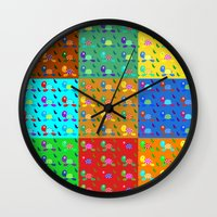 turtles Wall Clocks featuring turtles by vitamin