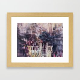 Shifts and Cracks (The Gates of Yesod) Framed Art Print
