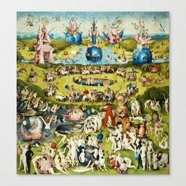 Hieronymus Bosch - The Garden Of Earthly Delights Canvas Print