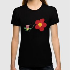 Joy! Womens Fitted Tee Black LARGE