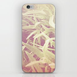 furry grass iPhone Skin