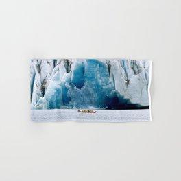 Ride to the Alaskan Glacier Hand & Bath Towel