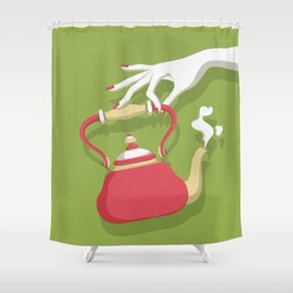 It's Tea Time Shower Curtain