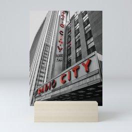 Radio City Mini Art Print