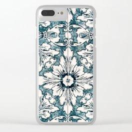 Portugal Azulejo Clear iPhone Case