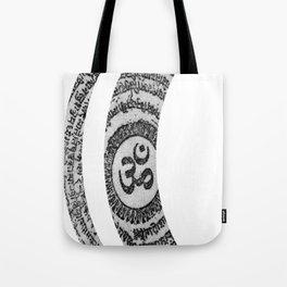 Om Nama Shivaya Tote Bag