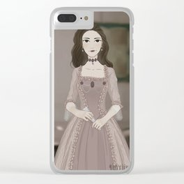A pleasure to meet you Clear iPhone Case