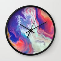 passion Wall Clocks featuring Passion by Kimsey Price