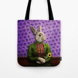Miss Bunny Lapin in Repose Tote Bag