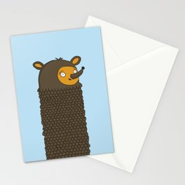 Tall Bear Stationery Cards