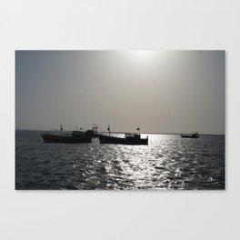 Lost sea Canvas Print