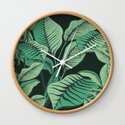 Exotic Tropical Banana Palm Leaf Print by draperandharlow
