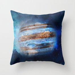 Hello Jupiter! Throw Pillow