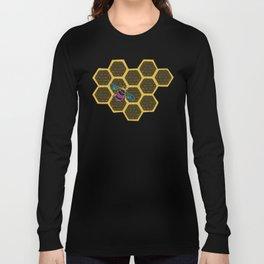 Honeybee lace | Nicole B Roberts Long Sleeve T-shirt