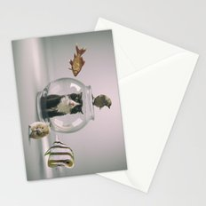 Curiosity killed the cat Stationery Cards