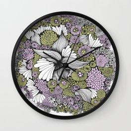 macrocosm 4 Wall Clock