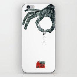 Personal Dictionary: rain iPhone Skin