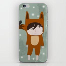Foxie Boy iPhone Skin