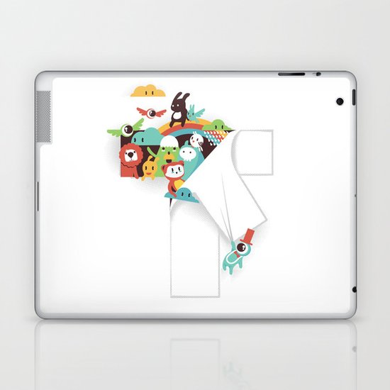 There is a T in the Team (but no I) Laptop & iPad Skin