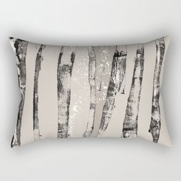 Shadow Branches Rectangular Pillow