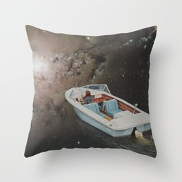 Sunday Outing Throw Pillow