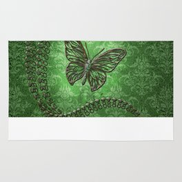 Decorative butterfly Rug