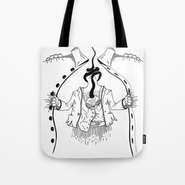 Cossack roots Tote Bag