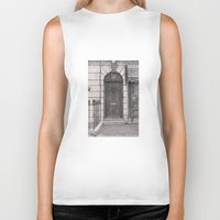 221b Biker Tanks featuring 221b by v0ff