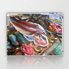 fish breakfast Laptop & iPad Skin
