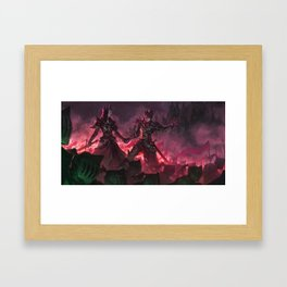 The Witch Queens of Agmathaar Framed Art Print