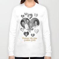 golden girls Long Sleeve T-shirts featuring The Golden Girls by BeeJL