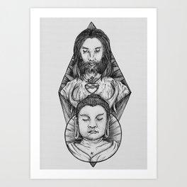 oh my! God Art Print