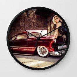 Miss Mandarine and the Kandy Devil Kustom Wall Clock