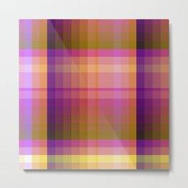 Complimentary Color harmony yellow/purple 2 Metal Print