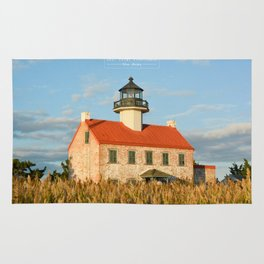 East Point Lighthouse - New Jersey. Rug