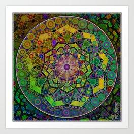 Unfolding Magic Art Print