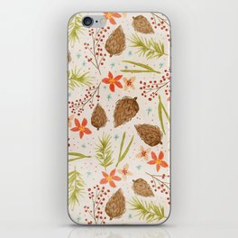 Quiet Walk In The Forest - A Soft And Lovely Pattern iPhone Skin
