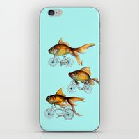 fish iPhone & iPod Skins featuring fish by Кaterina Кalinich