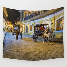 Vigan City, Philippines Wall Tapestry