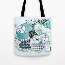 Winter tangle Tote Bag