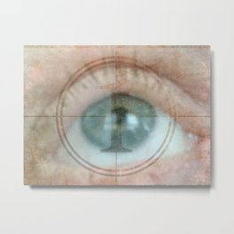 Why Eye Am What IAm Metal Print