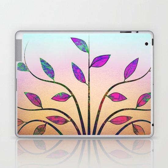 Ornamental Tree Laptop & iPad Skin