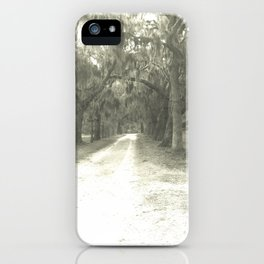 Old Road iPhone Case