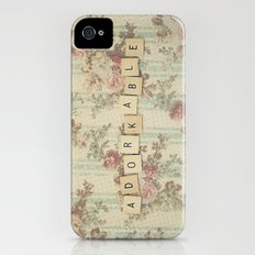 Adorkable iPhone (4, 4s) Slim Case