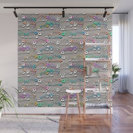 Some Bony Fish Wall Mural
