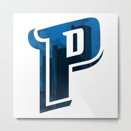 Hometown Pride | Detroit Pistons Metal Print