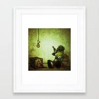 jojo Framed Art Prints featuring Jojo  by The Unflattered
