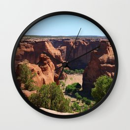 The Beauty of Canyon de Chelly Wall Clock
