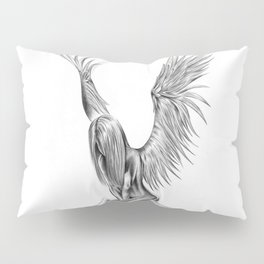 Lonely Angel Pillow Sham