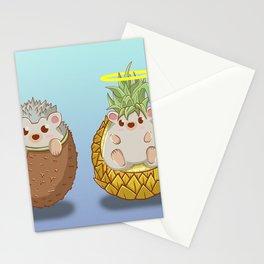 Kiwi & Pineapple Stationery Cards